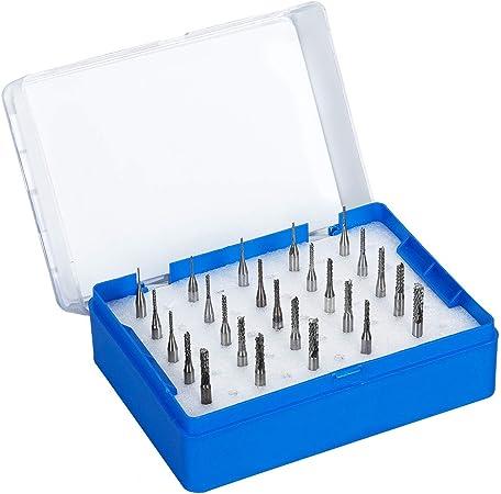 Latinaric 150 Pi/èces Mini Drill Foret /à Bois En HSS Jeux De Forets 0.4-3.2mm