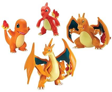 amazon com pokémon trainer s choice 4 figure gift pack charmander