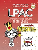 LPAC Versión Martina: Ley 39/2015 De 1 De