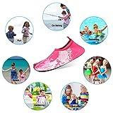KUNSHOP Kids Water Shoes, Boys Girls Quick Drying