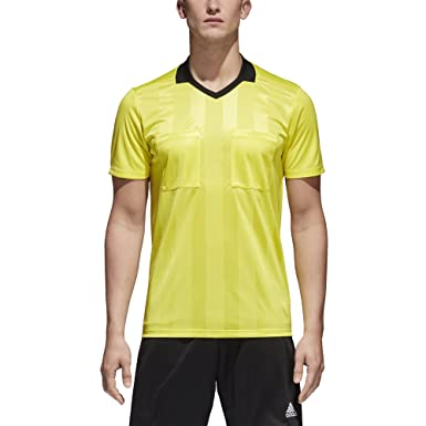 ea1da3d46 Amazon.com: adidas Referee 18 Jersey- Yellow: Clothing