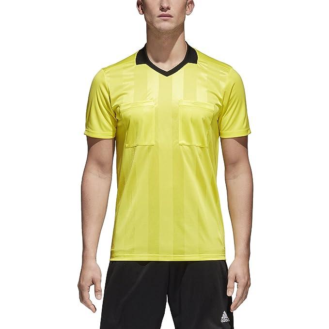 176455a9e Amazon.com: adidas Referee 18 Jersey- Yellow: Clothing