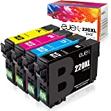 ejet Remanufactured Ink Cartridge Replacement for Epson 220XL 220 XL T220XL to use with Workforce WF-2750 WF-2630 WF…