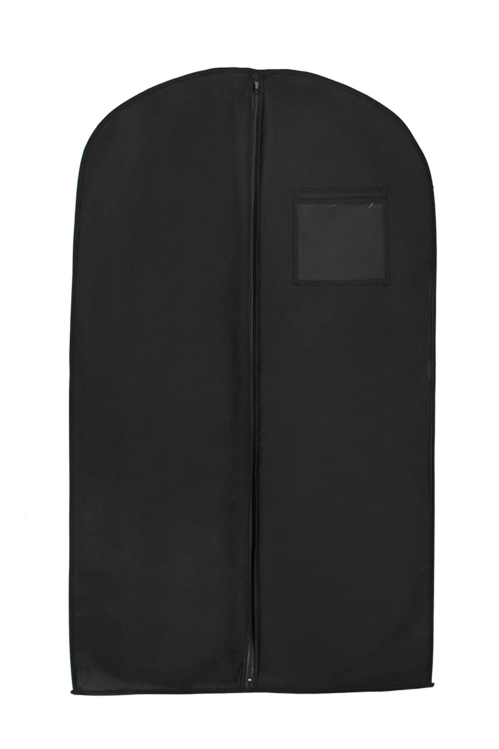 New Breathable 46 Suit/dress Black Garment Bag by BAGS FOR LESSTM Budget Bags Inc