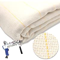 Tufting Gun Premium Quality  Primary Backing Material for Rug Making Polyester 32 x 66 piece Tufting. Rug hooking Punch needle