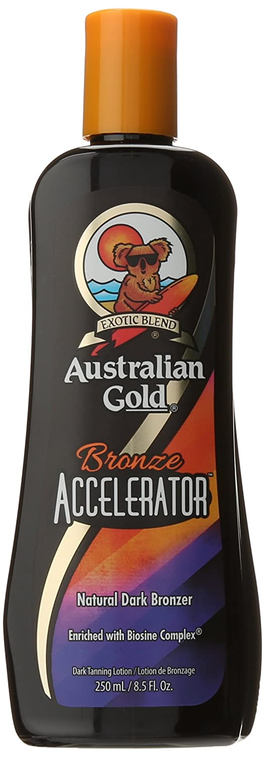 Australian Gold Cheeky Brown Accelerator with Bronzer and Herbal Extracts 250ml AGCheekyB250