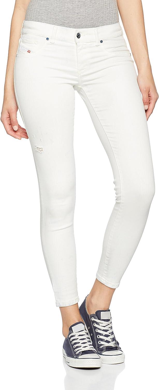 Diesel Livier-Ankle Pantaloni Vaquero Skinny para Mujer