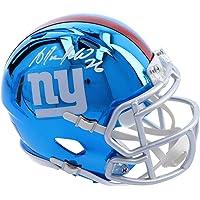$48 » Antrel Rolle New York Giants Autographed Riddel Chrome Alternate Speed Mini Helmet - Fanatics Authentic Certified