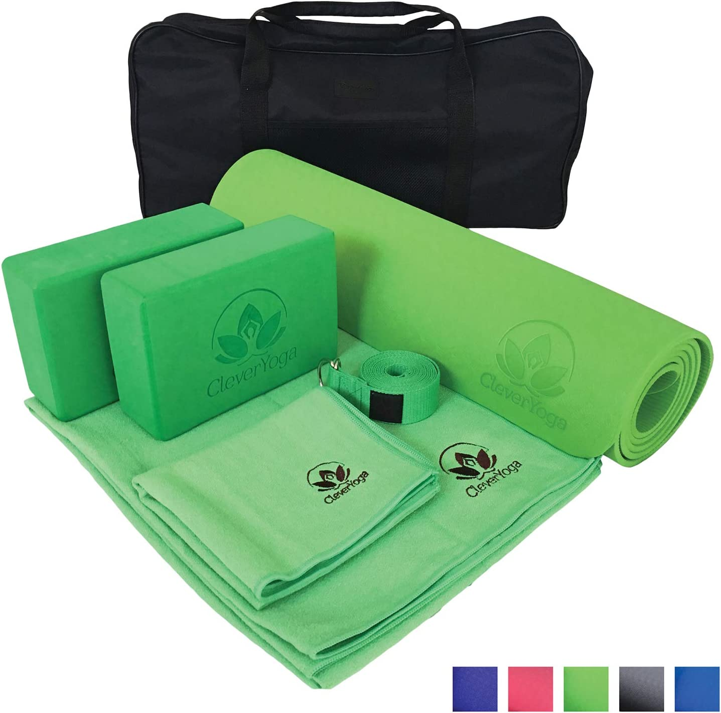 With Carrying Case 8 Piece Yoga Kit Yoga Ball And Pump JanSemeradProducts