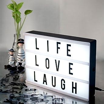 Caja de luz LED de cine,Suniness iluminar su vida cargada de ...