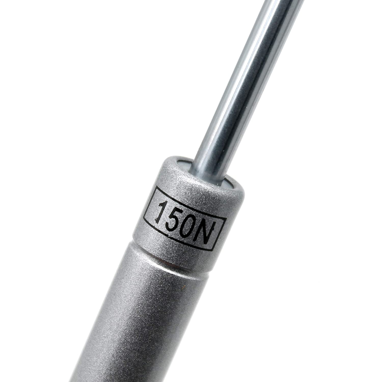 charni/ères /à fermeture amortie supports de couvercle Amortisseur /à gaz amortisseurs /à gaz amortisseur /à gaz charni/ères de coffre /à jouets 150N // 33lb // 15KG Paquet de 2 supports dascenseurs