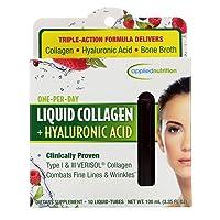Applied Nutrition Liquid Collagen Skin Revitalization, 20 Count 3.35 Fl Ounce