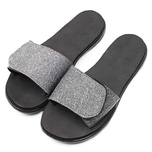 02860cbe15556 Amazon.com   Secret Slippers Women's Memory Foam Slide Adjustable ...