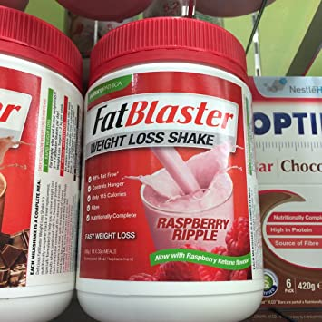 Amazon Com Fatblaster Weight Loss Raspberry Shake 430g Product Of