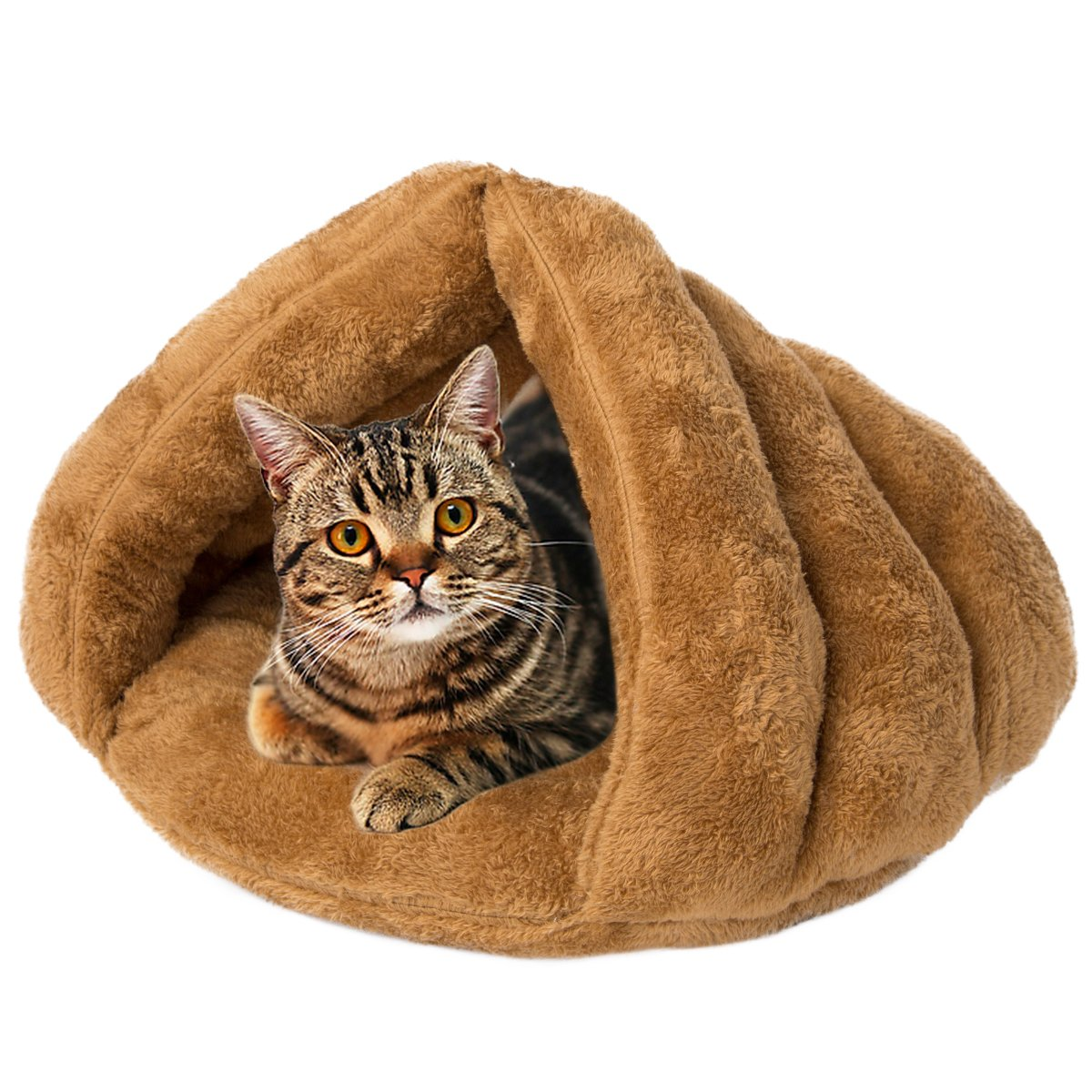 Pet Bed Tent Pet House Hooded Cuddle Pouch Cave for Cat Dog Puppy Sleep zone Kennel outlet