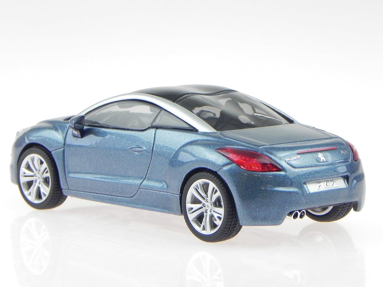 Peugeot RCZ 2013 blau metallic 1:43 Norev neu OVP 473877