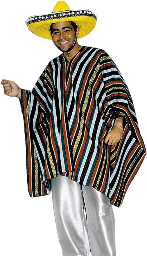 EL CARNAVAL Disfraz Mejicano Hombre - Este Disfraz Incluye un ...