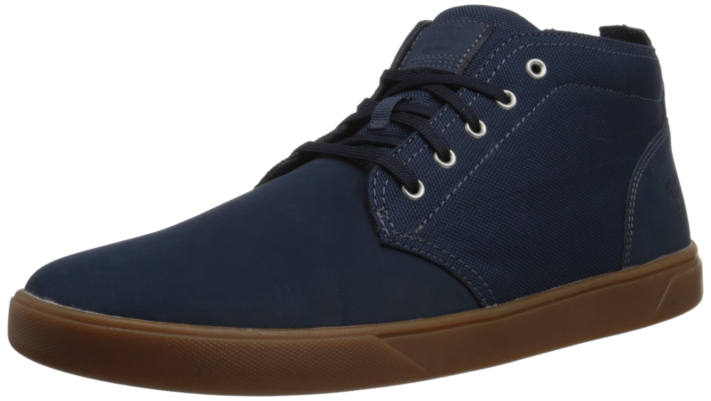 58c371636db Galleon - Timberland Men's Groveton Leather Fabric Chukka Boot, Navy ...