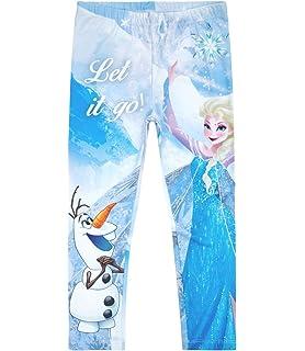 01a102346d Disney Die Eiskönigin Elsa & Anna Mädchen Leggings 2016 Kollektion - blau