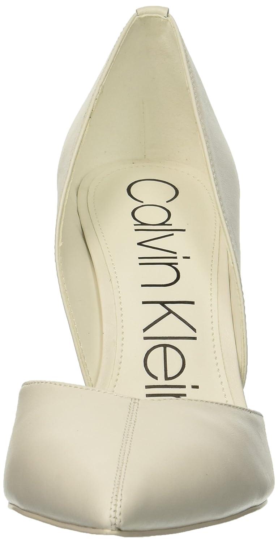 Calvin Klein Women's Marybeth Pump B07CJ2L74W 6 B(M) US|White