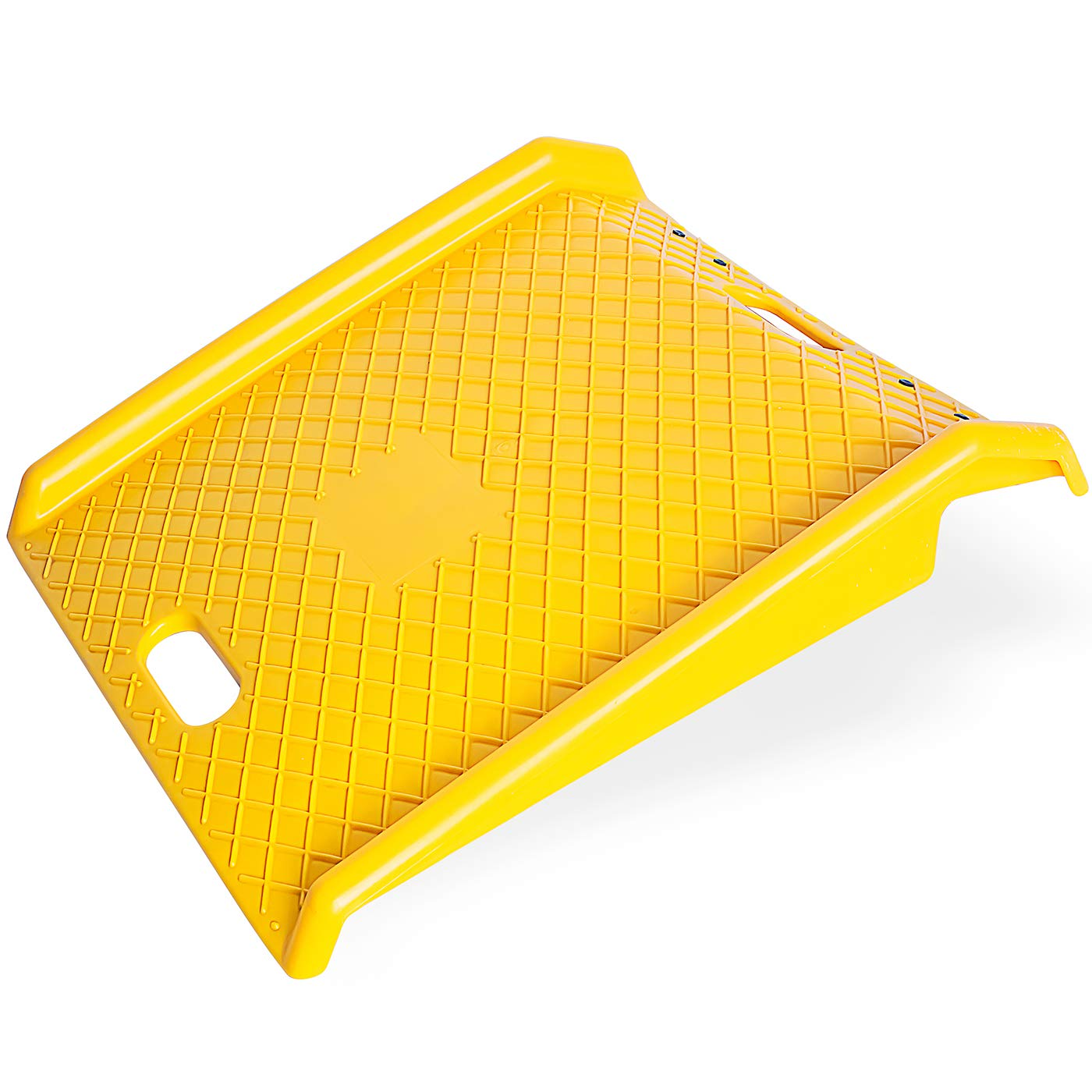 OxGord Curb Ramp- Heavy Duty 1000 Lbs Weight Capacity - Portable Assistance for Delivery, Hand Trucks, Carts, Wheelchairs, Walkers, Strollers