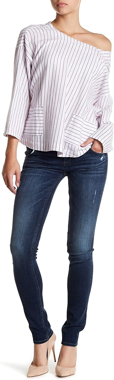 Womens Collin Mid-Rise Skinny Wooster HUDSON Jeans