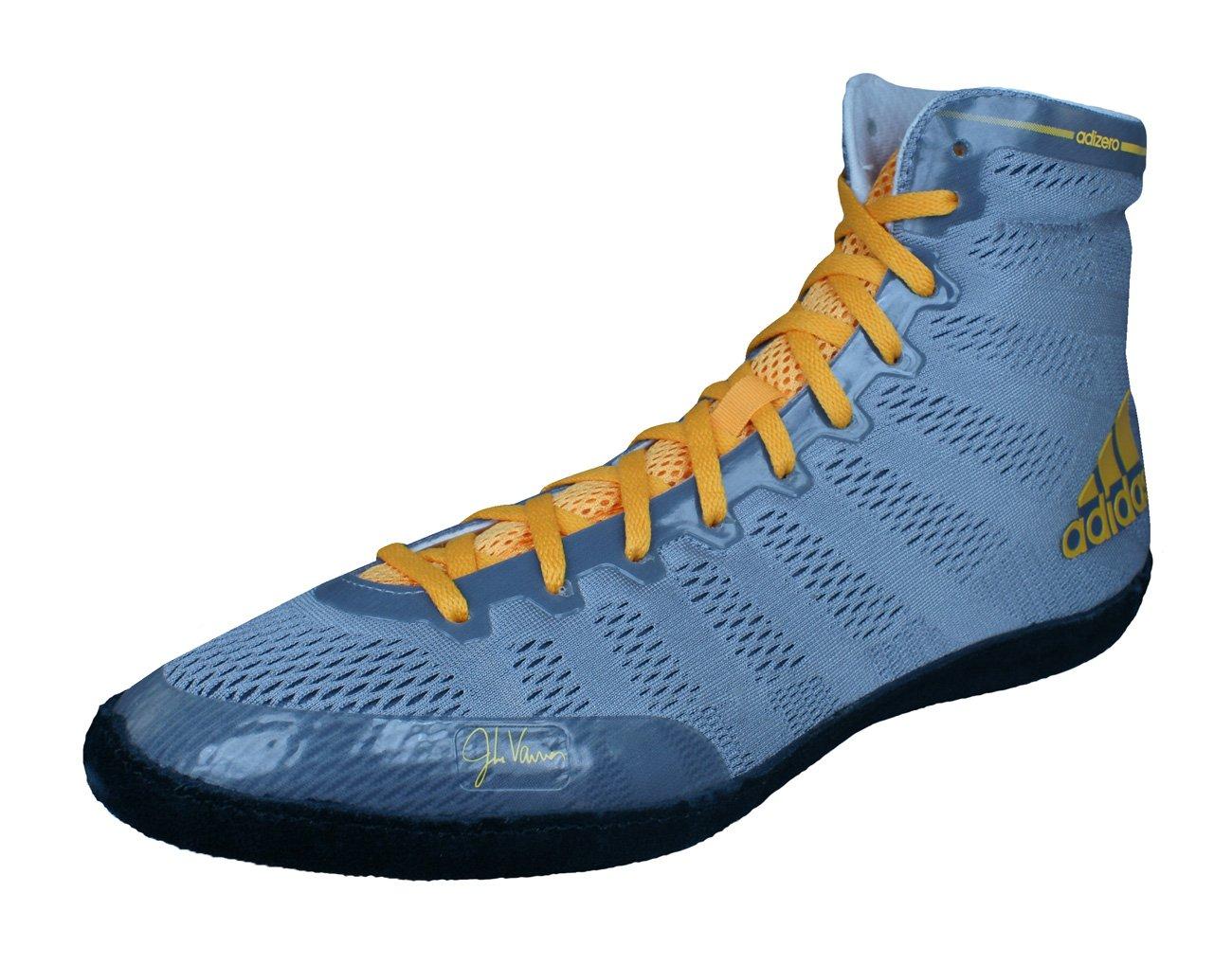adidas Adizero Wrestling XIV Mens Wrestling Shoes/Sneakers-Grey-13.5 by adidas