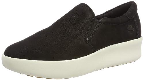 d934c7f50ee80e Timberland Damen Berlin Park Slip On Sneaker Schwarz (Jet Black 970) 36 EU