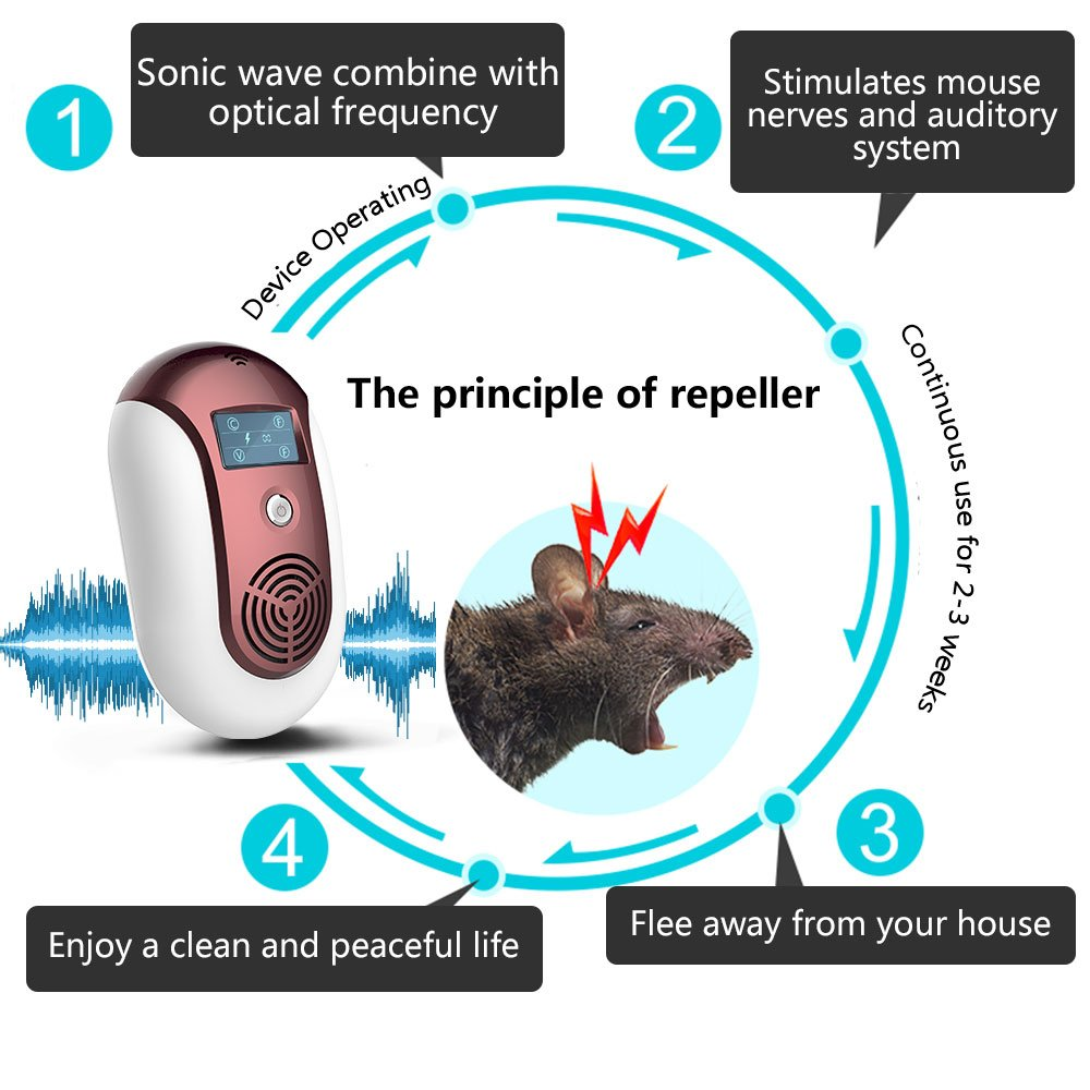 Flea repeller ultrasonic: the principle of operation, advantages, features of operation