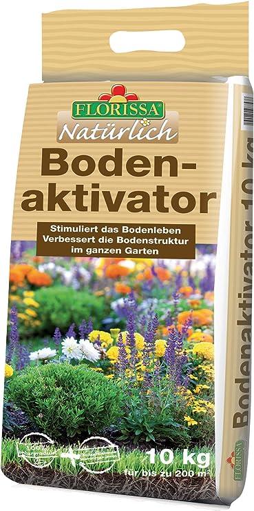 Florissa - Compostador Natural para Suelos de jardín, para la Densidad del Suelo, Activa la Vida del Suelo para una Mayor Cosecha, 45 L: Amazon.es: Jardín