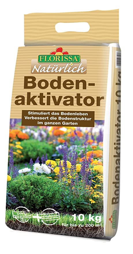 Florissa - Compostador Natural para Suelos de jardín, para la ...