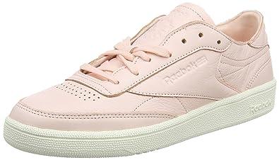 sports shoes 5ba33 4f881 Reebok Women's Club C 85 Dcn Trainers Pink (Luna Pink/Chalk ...