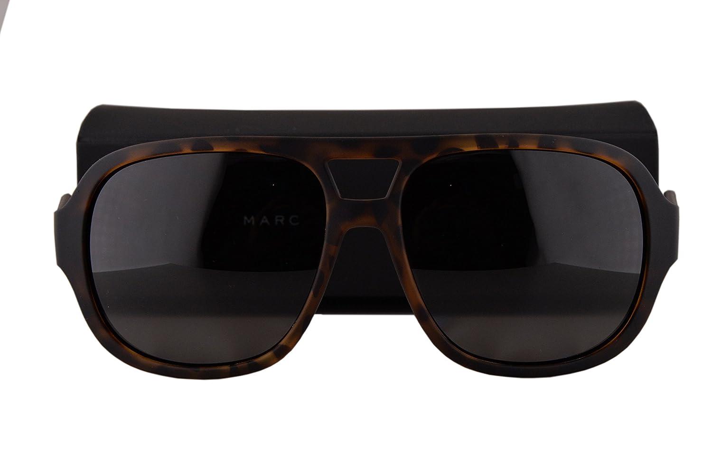 a8446948ee43 Marc by Marc Jacobs MMJ483/S Sunglasses Havana w/Polarized Gray Lens DWJM9  MMJ483S: Amazon.co.uk: Clothing