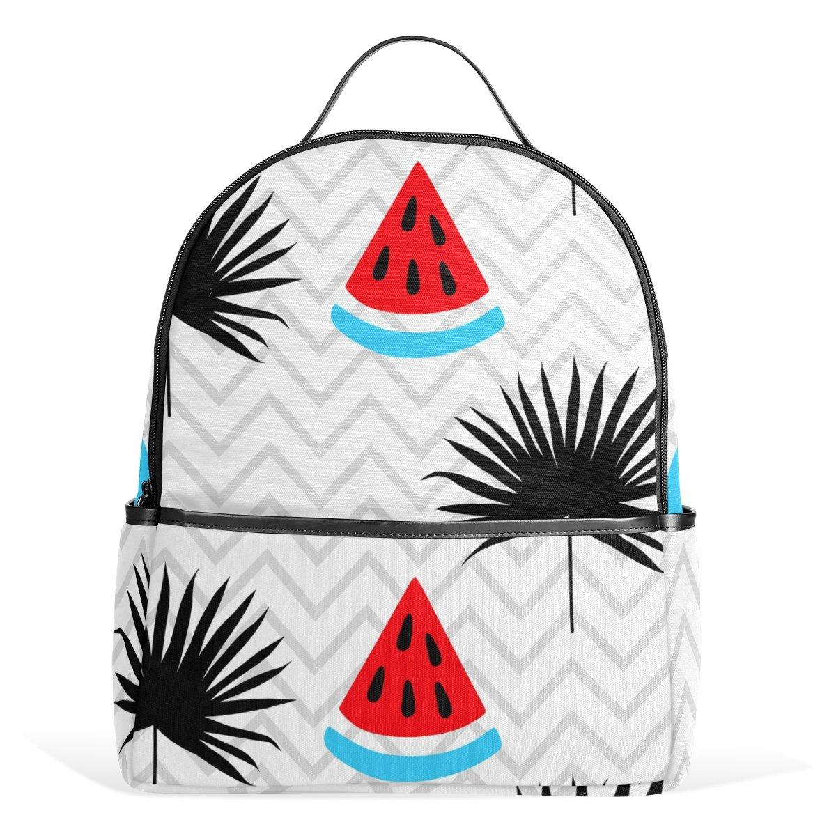 deyya TropicalスイカハワイエキゾチックKidsスクールバックパックforボーイズGirls Bookbag B073WVRBVL マルチカラー1