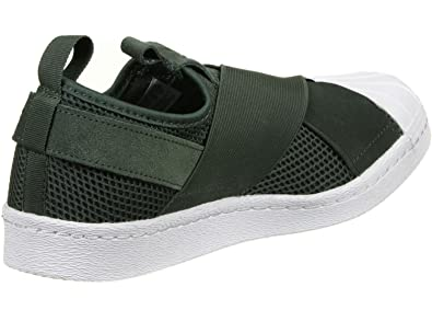 Adidas Superstar Slip On Femme Baskets Mode Vert, Olive, *
