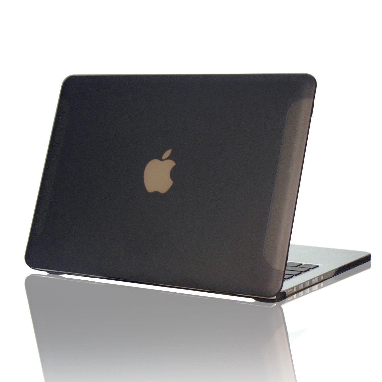 Funda para MacBook 13 Retina Display de plástico gomoso mate con el logo de Apple visible, de Ximeng, para Mac Pro de 13,3 pulgadas (sin lector de CD) A1502 ...