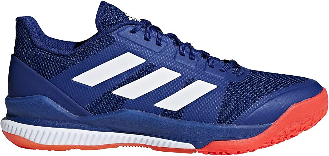 Adidas Stabil Bounce Shoe Men's Handball 9.5 Mystery Ink-White ...