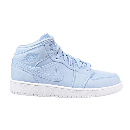 4fb8f43fc42a Image Unavailable. Image not available for. Color  Jordan Nike Boy s Air 1  Mid Basketball Shoe ...