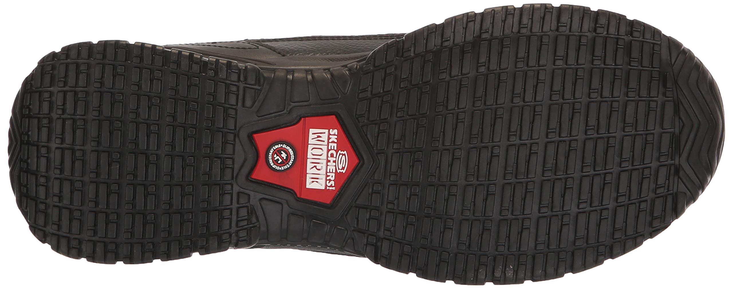 Skechers Men's Soft Stride - Galley Black Smooth Lthr/Midsole 8 EW by Skechers (Image #3)