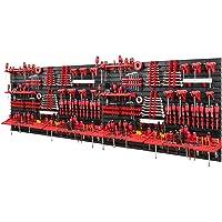 Gereedschapswand -2304 x 780 mm - set 116 gereedschapshouders met gatenwand opslagsysteem gatenwand wandrek…
