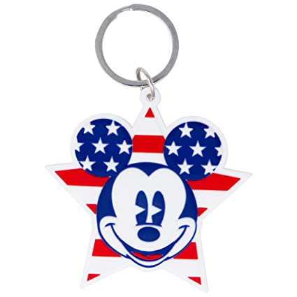 Mickey Mouse Llavero patriótico: Amazon.es: Juguetes y juegos