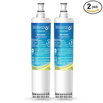 Amazon.com: Waterdrop 4396508 NSF 53&42 Certified Refrigerator Water on refrigeror ice water filter, kenmore ice and water filter, kitchenaid fridge filter replacement, whirlpool ice and water filter,