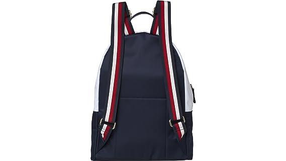 67537383b08e Tommy Hilfiger Poppy 12   Backpack blue white  Amazon.co.uk  Clothing