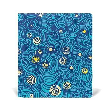 (tapa de piel cubierta por bennigiry – cielo Tumblr patrones libro cubre a medio tamaño