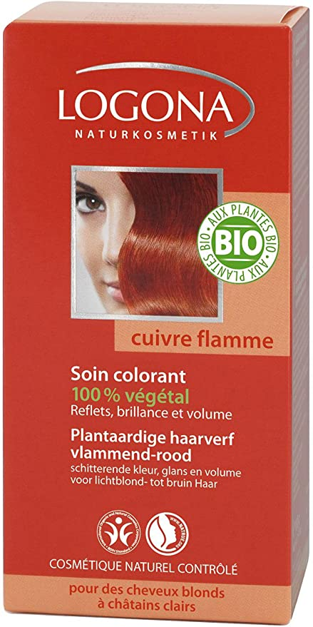 Logona Colorante Veg. 040 Cobre Intenso 100G Logona 400 g ...