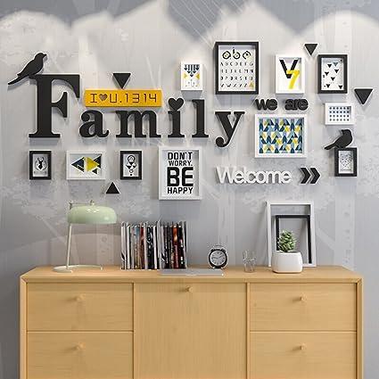 Amazoncom Mano Home Plastic Frame Modern Living Room Photo Frame