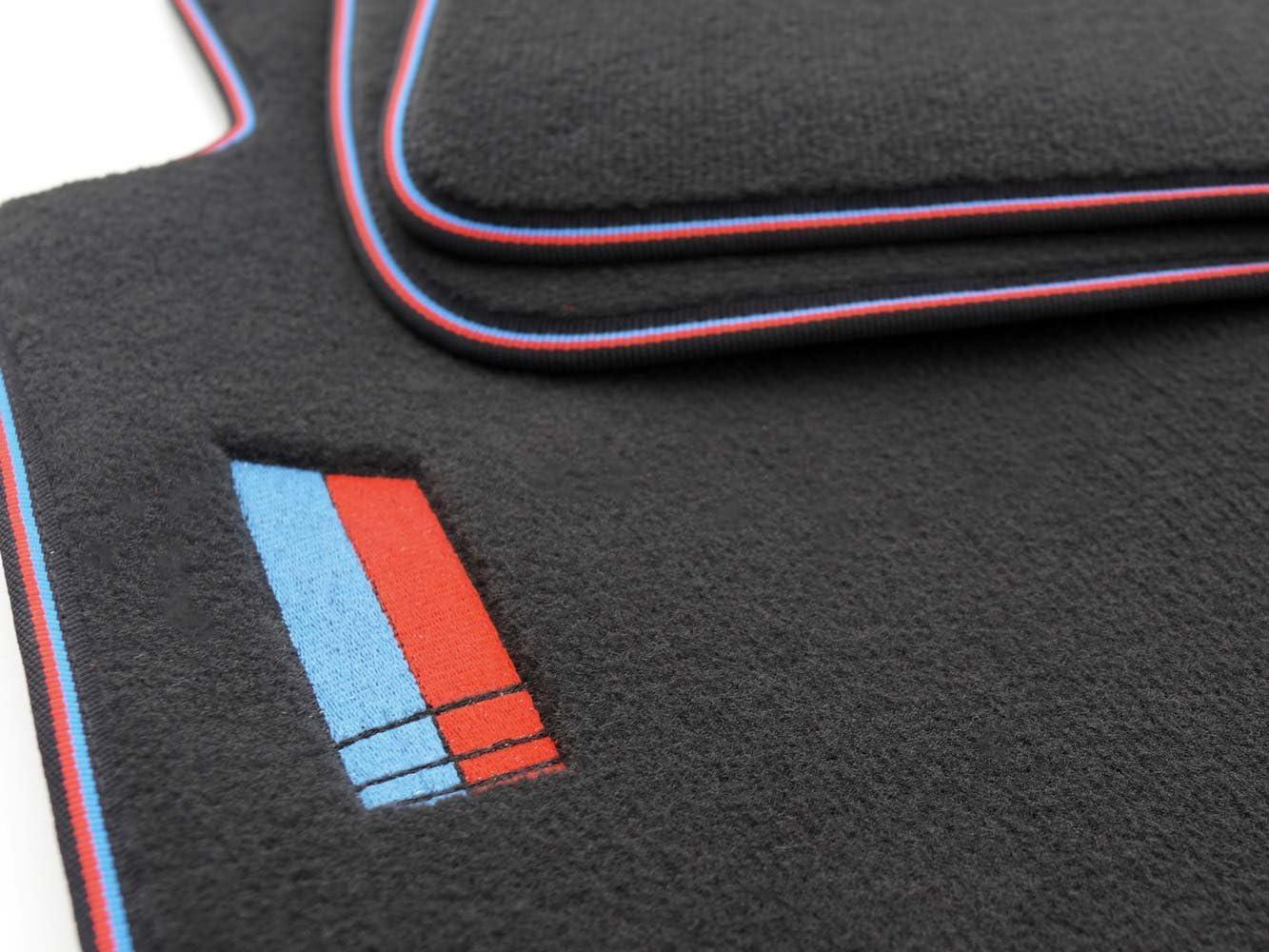 Kh Teile Fußmatten Velours Automatten Premium M Edition 4 Teilig Tuning Bestickt 4 Teilig Auto