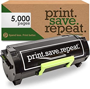 Print.Save.Repeat. Lexmark 501H High Yield Remanufactured Toner Cartridge for MS310, MS312, MS315, MS410, MS415, MS510, MS610 [5,000 Pages]