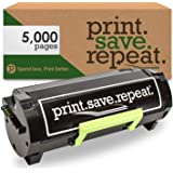 Print.Save.Repeat. Lexmark 501H High Yield Remanufactured Toner Cartridge for MS310, MS312, MS315, MS410, MS415, MS510, MS610