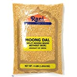 Rani Moong Dal (Split Mung Beans without skin) Lentils Indian 4lbs (64oz) ~ All Natural | Gluten Free Ingredients | NON-GMO |